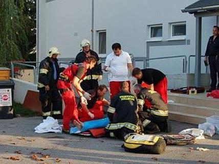 Ein Mann hatte sich im Karl-Ryker-Heim in Sollenau selbst angezündet