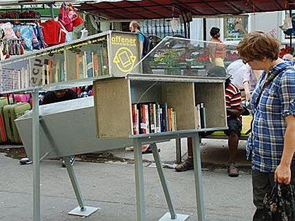 Zwei Jahre Offener Bücherschrank In Wien Der Betreiber Zieht Bilanz