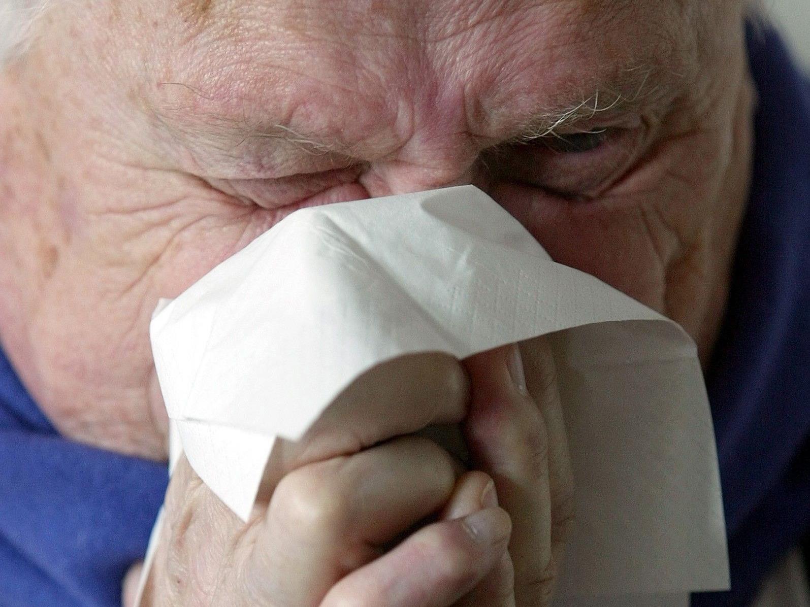 Die Influenza hält Einzug in Österreich. Es werden bis zu 300.000 Erkrankungen erwartet.