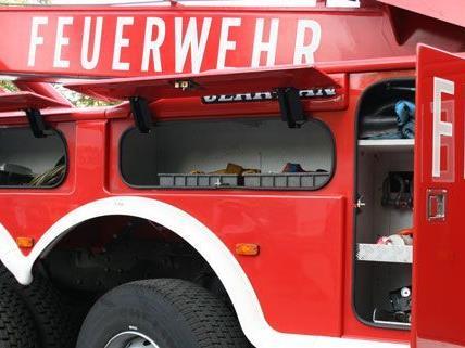 Die Feuerwehr hatte in der Rennbahnweg-Siedlung am Sonntag einen Großeinsatz