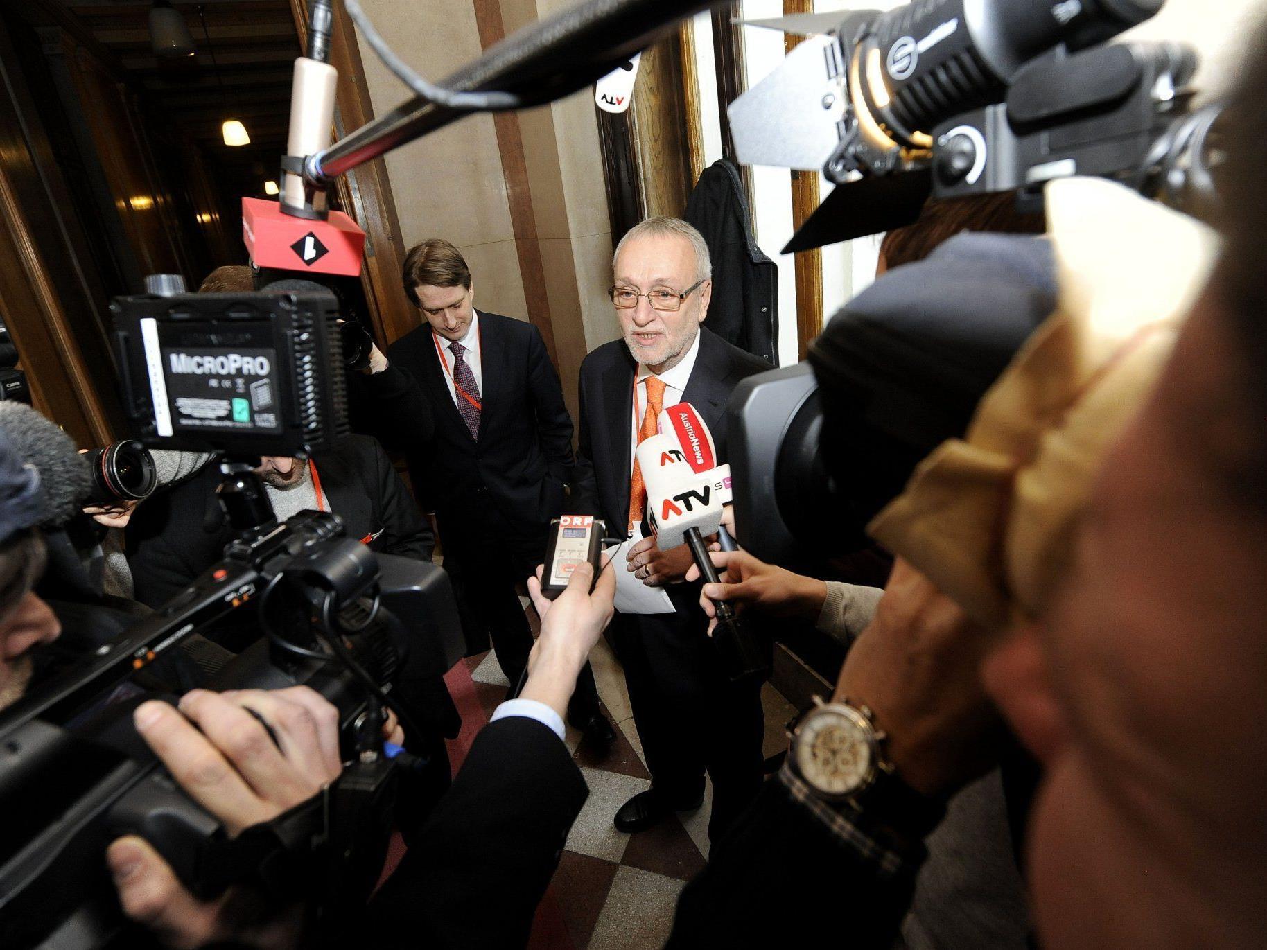 Fischer war heute im U-Ausschuss vorgeladen.