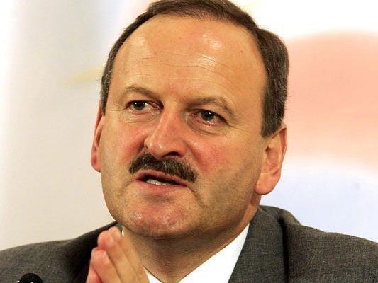 Sitzt heute vor dem U-Ausschuss: Ex-Minister Hubert Gorbach.