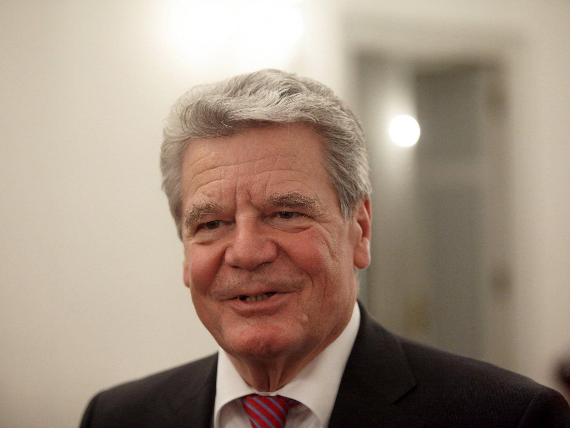 Union nun doch für Joachim Gauck.