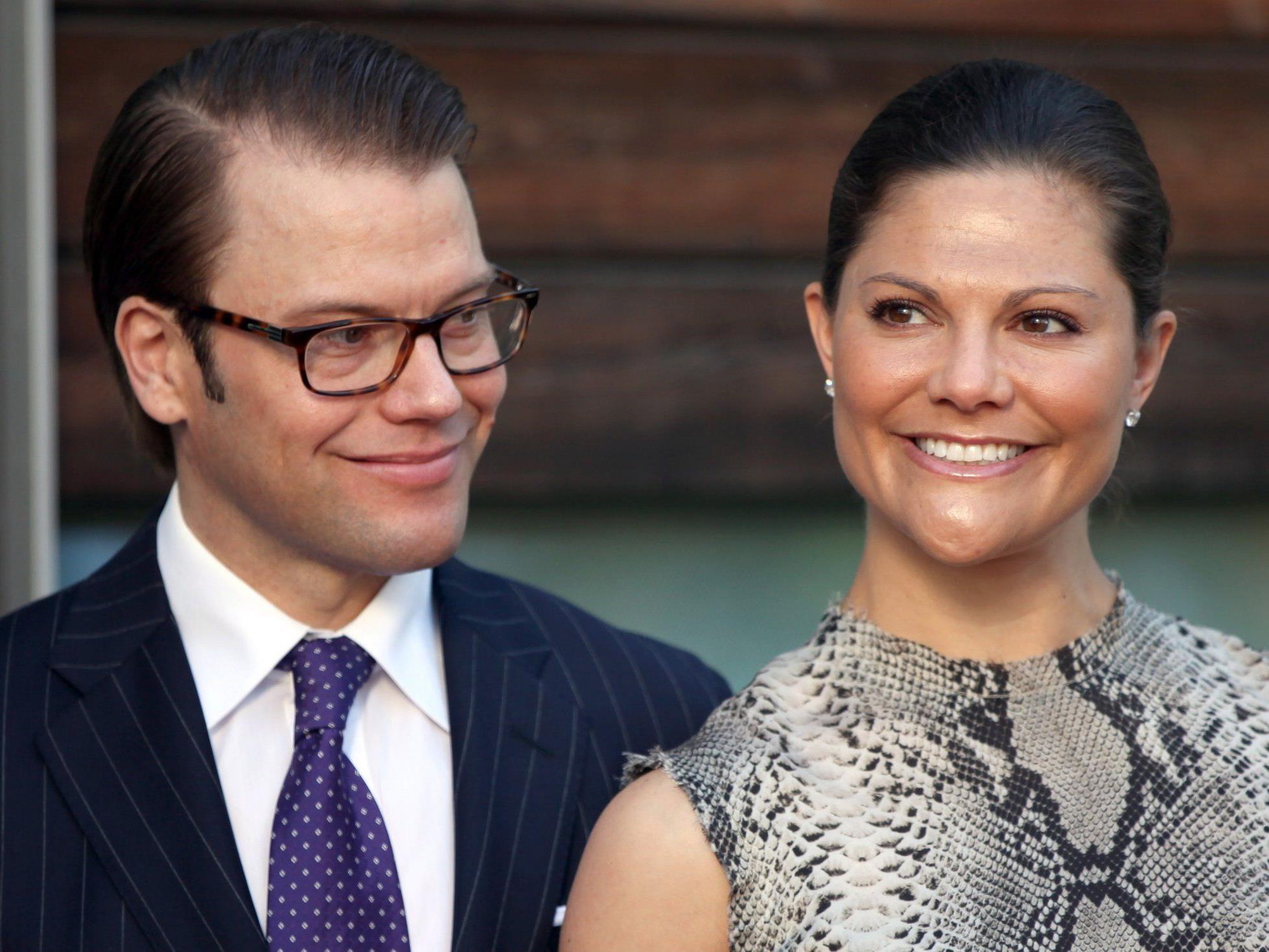 Sind seit Donnerstag stolze Eltern einer kleinen Tochter - Kronprinzessin Victoria und ihr Daniel.