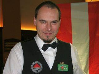 Mag. Werner Rieschl, Staatsmeister English Billiards Points- Format