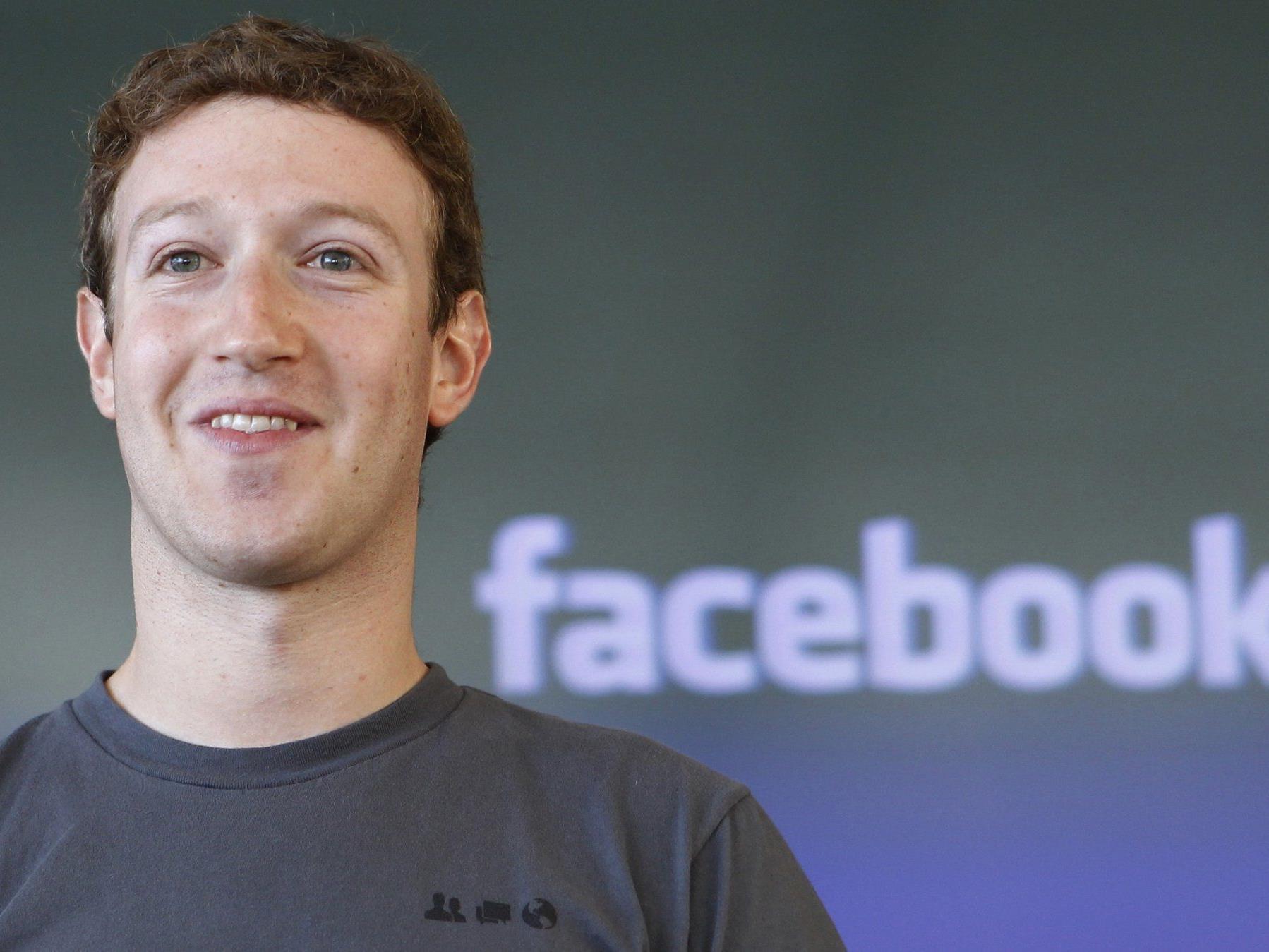 Zuckerberg verdient vergleichsweise wenig, besitzt allerdings 28 Prozent der Firma.
