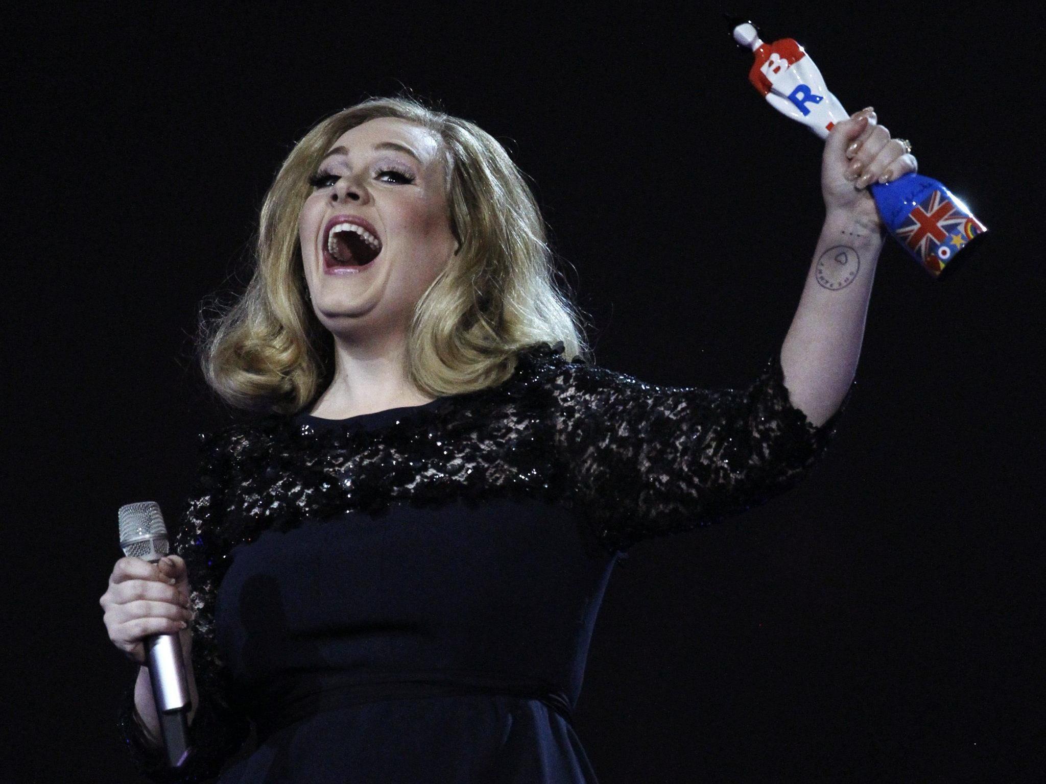 Adele räumte ordentlich ab