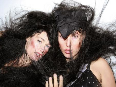 CocoRosie werden am Donaufestival 2012 in Krems auftreten.