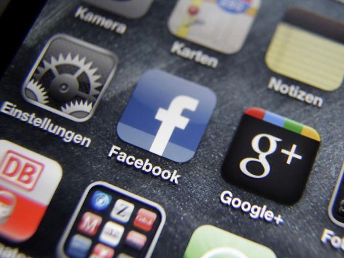 Google+ weit hinter Facebook