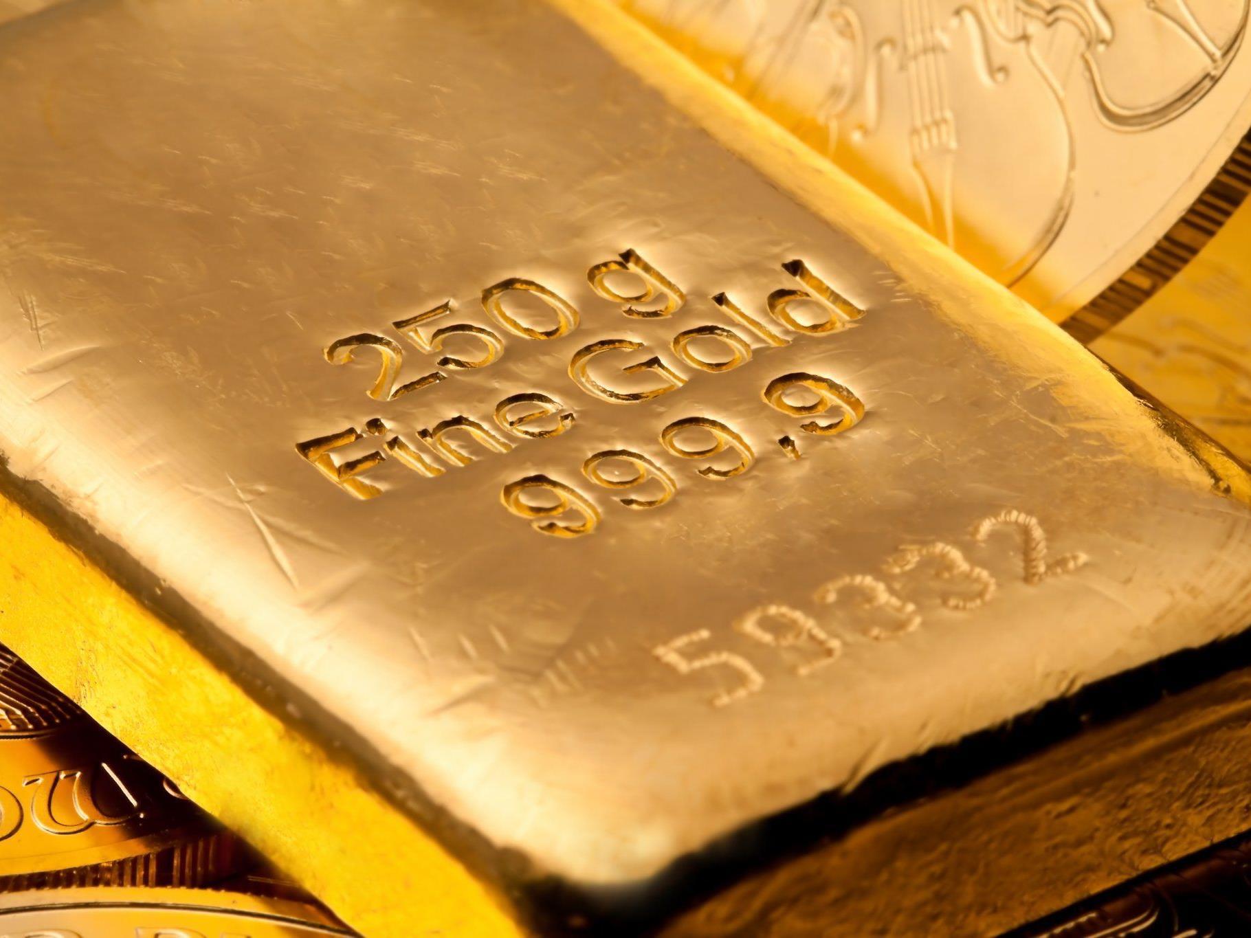 Drei Kilo Gold bei Renovierung einer Küche gefunden.
