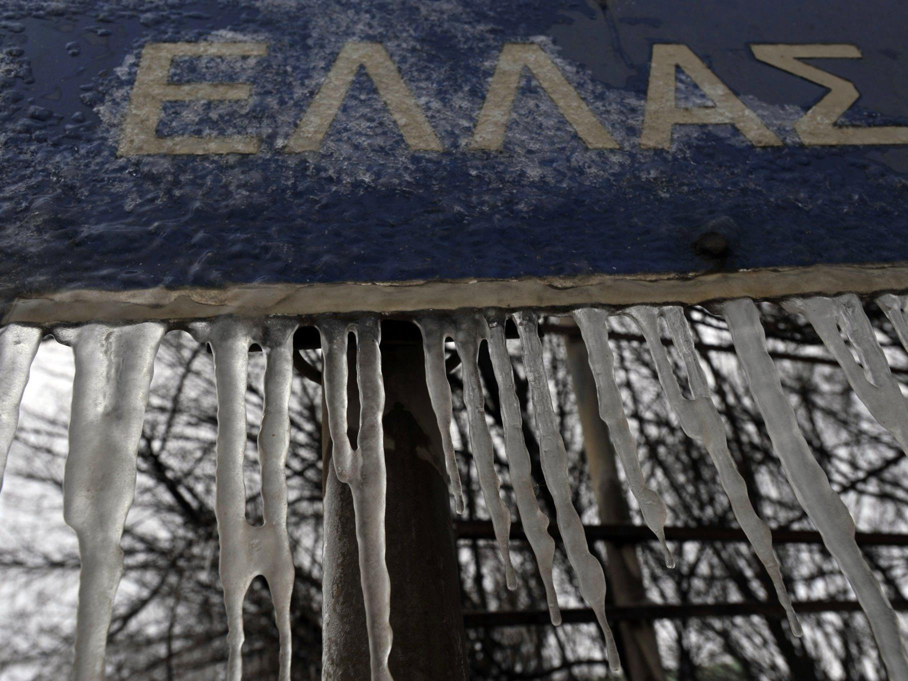 """""""Eiszeit"""" zu Ende: Griechenland, EU und IWF sind sich einig."""