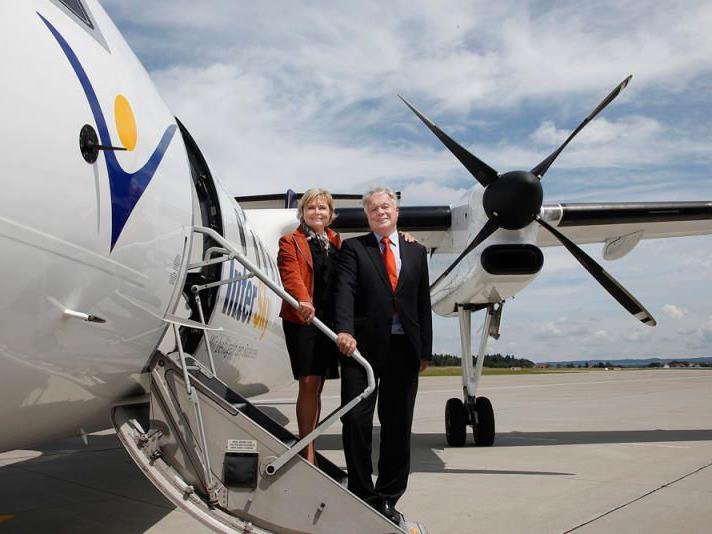 Den InterSky-Eigentümern Renate Moser und Rolf Seewald verbleiben die restlichen 49 Prozent.