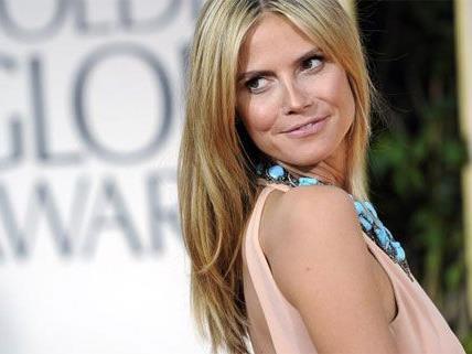 """Heidi Klum zeigt sich als """"starke Lady"""" nach ihrer Trennung von Seal."""