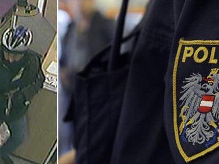 Die Polizei fahndet nach diesem Mann (Bild links).
