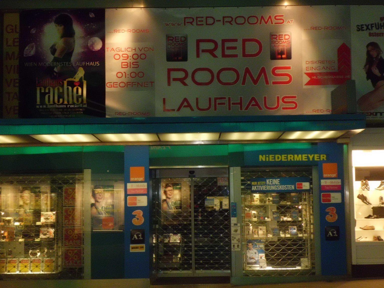 """Das Laufhaus """"Red Rooms"""" in Wien-Meidling beherbergt während der Kältewelle Obdachlose."""