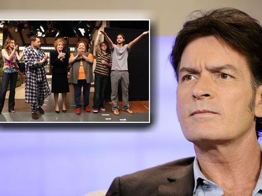 "Charlie Sheen lästert über ""Two And A Half Men""."