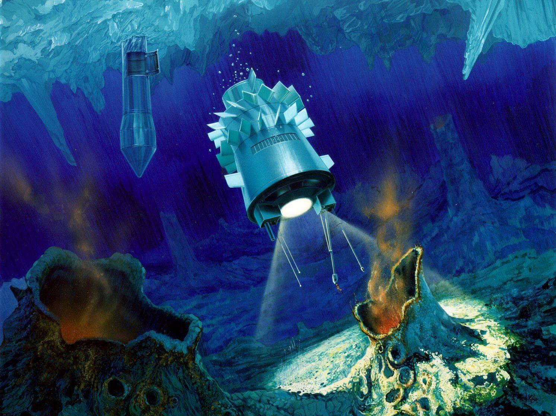 NASA-Sonde erforscht die tiefen Gewässer.