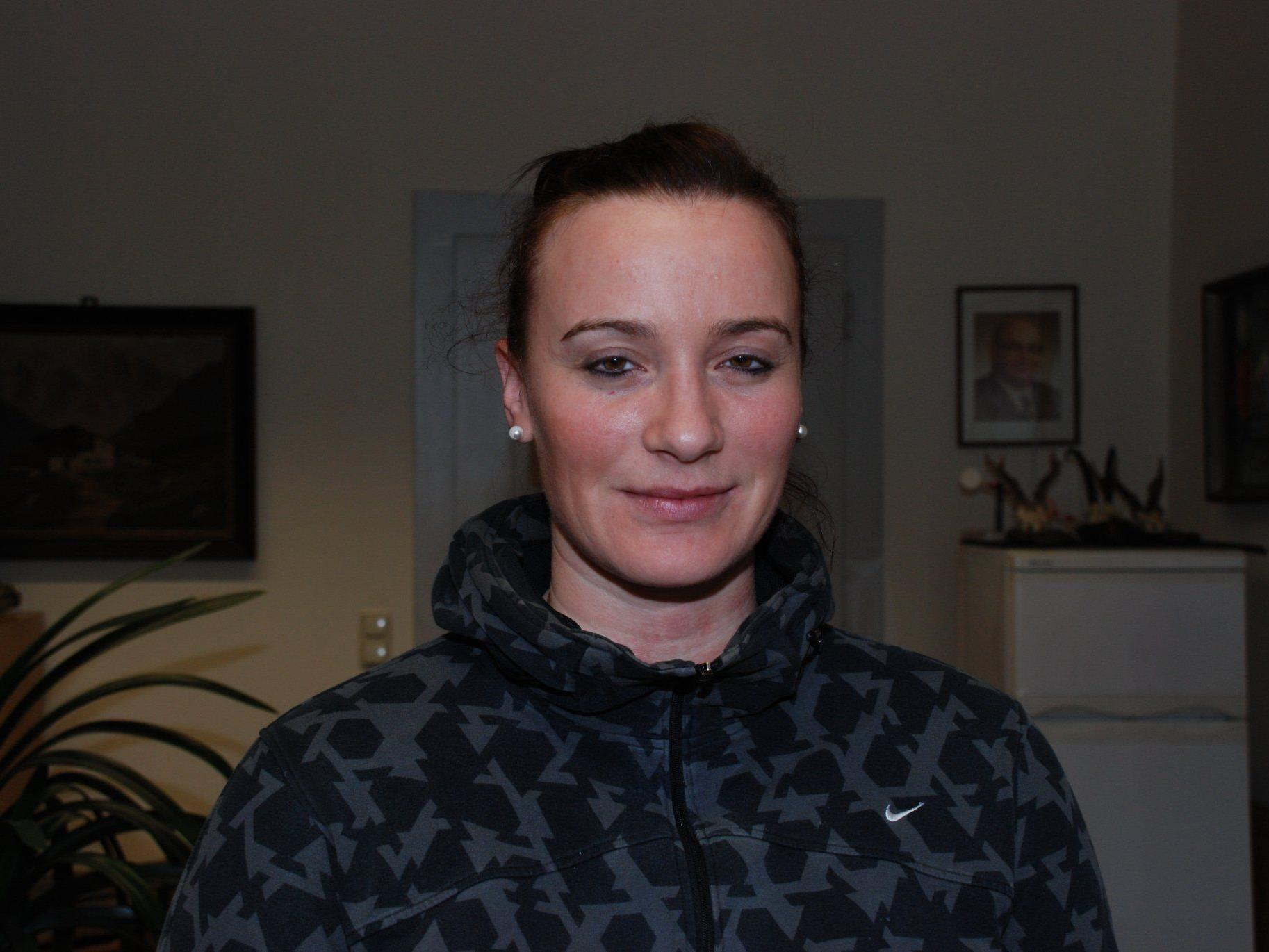 Martina Strmsek soll mit Feldkirch den Verbleib schaffen.