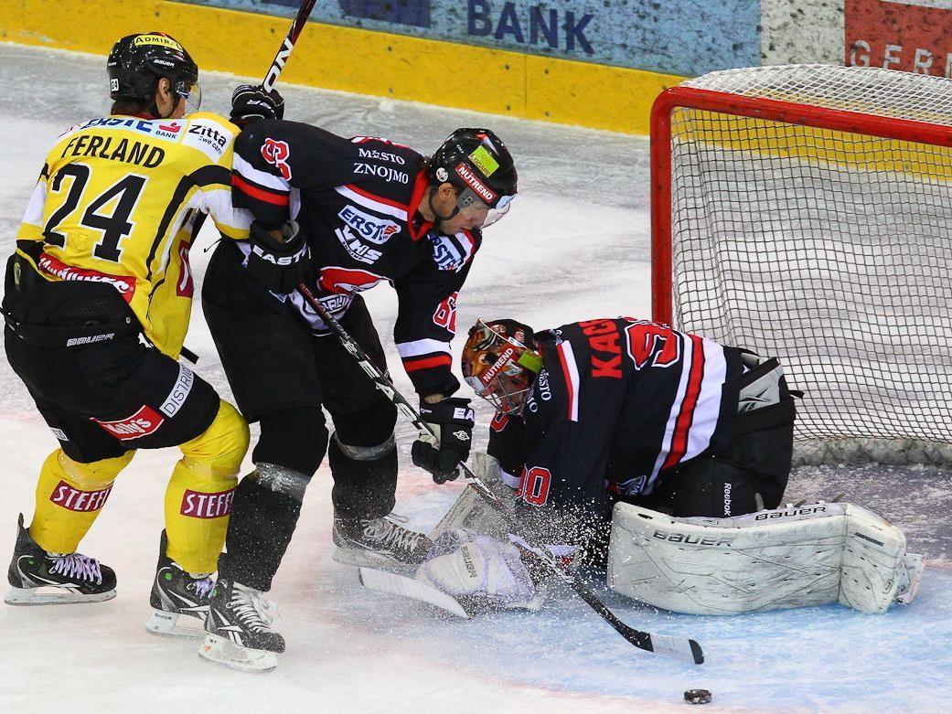 Die Vienna Capitals mussten schon wieder eine Niederlage einstecken.