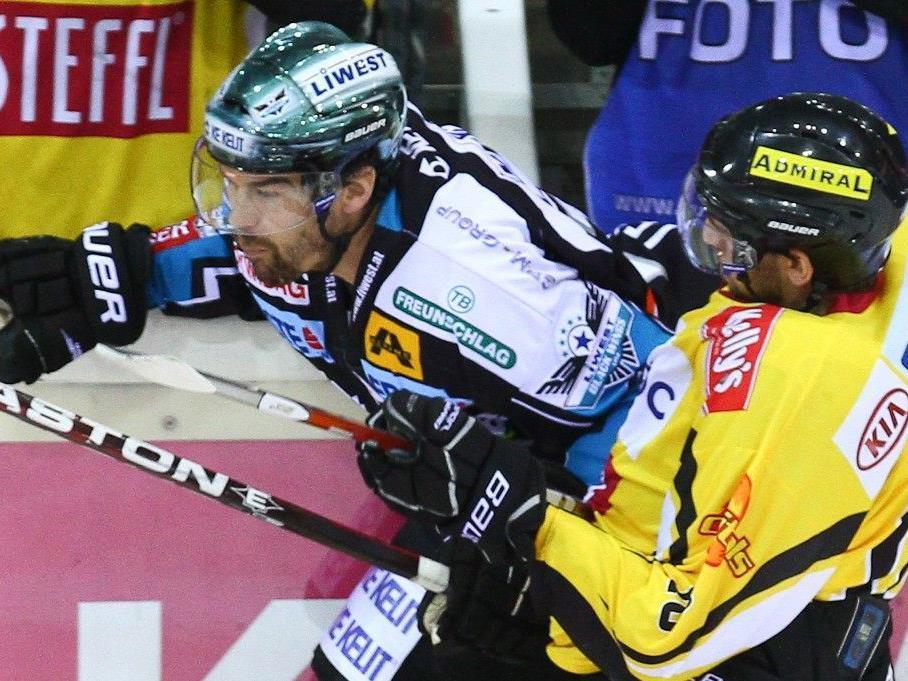 Die Vienna Capitals fighten um den Halbfinal-Einzug.