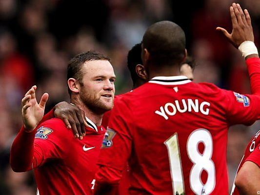 Wayne Rooney wieder einmal der Matchwinner