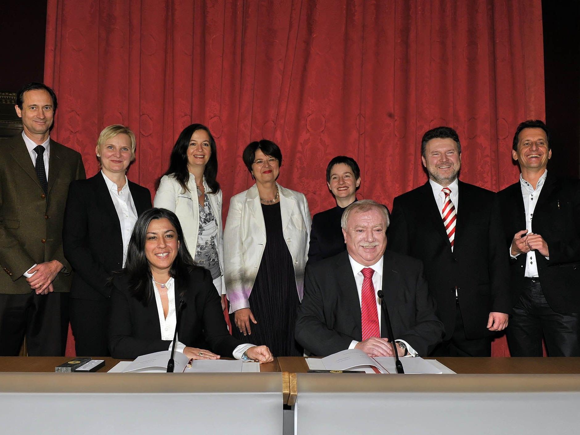 Die Stadtregierung steht hinter dem Projekt Wiener Charta.