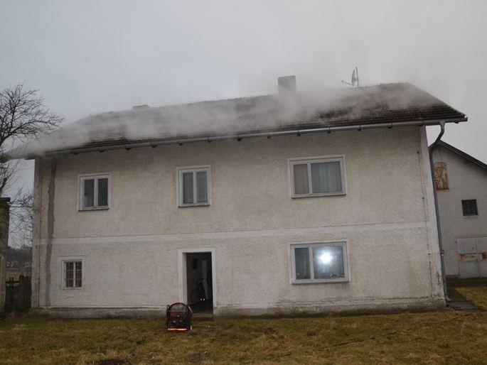 Die 84-jährige Pensionistin wurde bei dem Brand zum Glück nicht verletzt.
