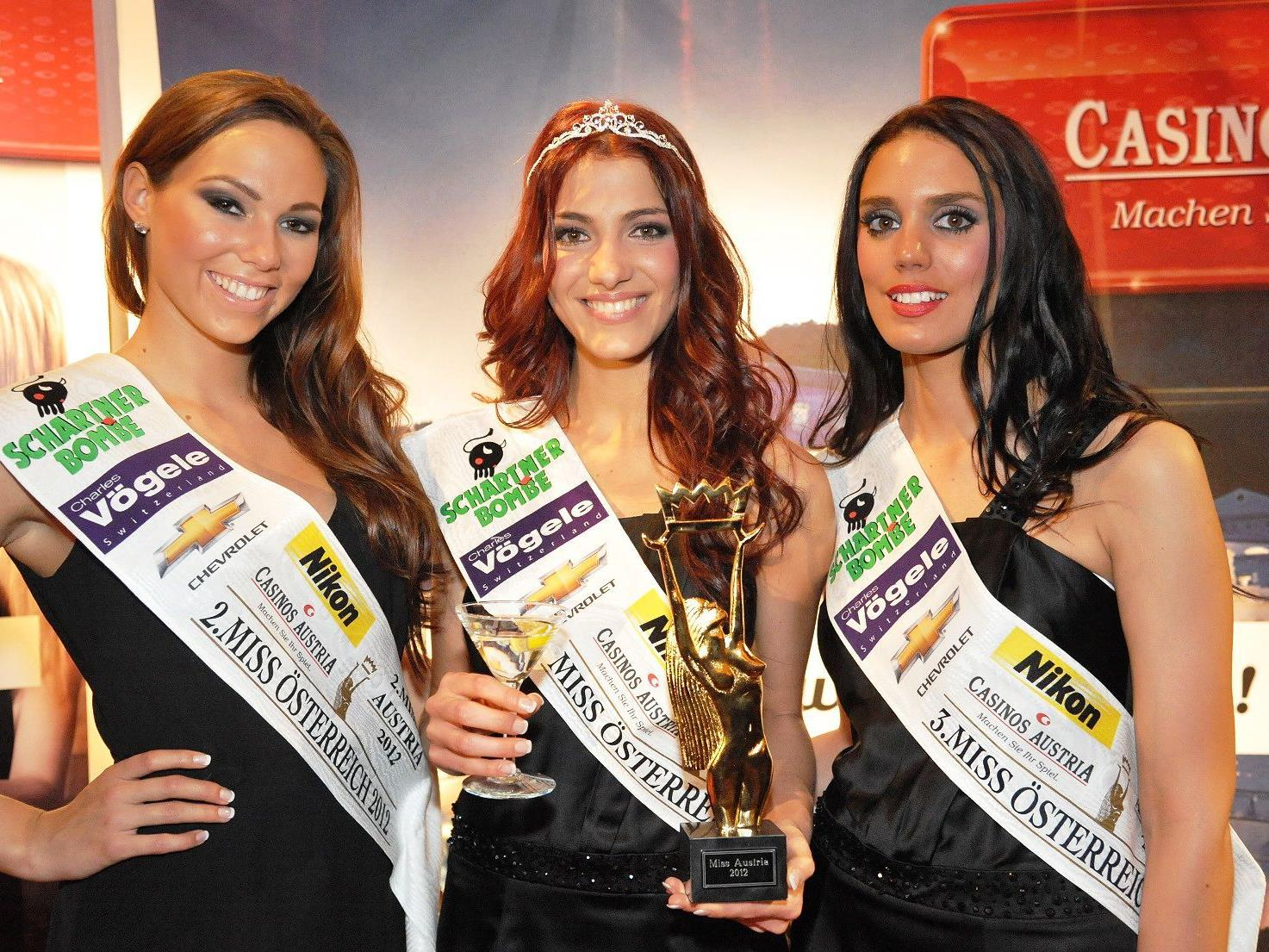 Amina Dagi wurde zur Miss Austria 2012 gekürt.