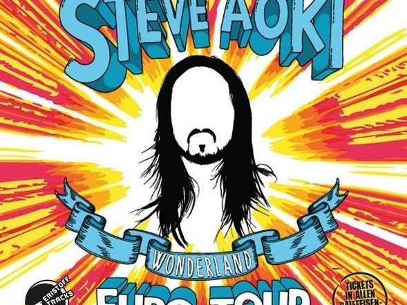 Das Konzert von Steve Aoki im Flex ist leider abgesagt.