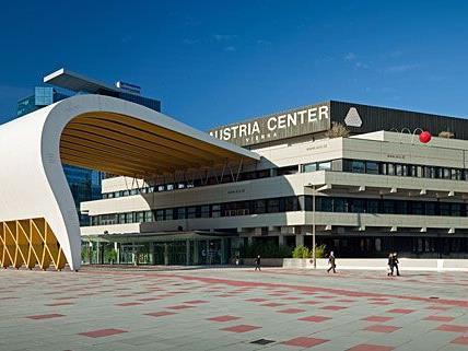 Im Wiener Austria Center findet der Brustkrebskongress statt