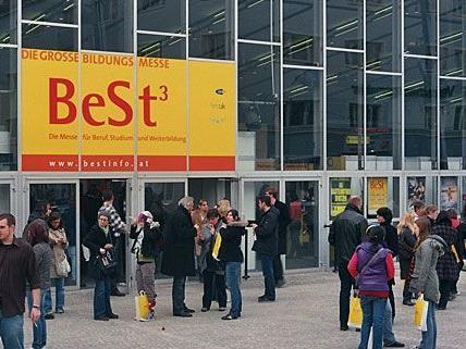 Die Bildungs- und Berufsinformationsmesse BeSt findet bereits zum 27. Mal in der Wiener Stadthalle statt