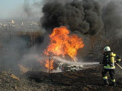 Ein derart spektakulärer Brand wie jener in Gumpoldskirchen ist für die Feuerwehr nicht alltäglich