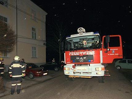 Die Feuerwehr kam in der Nacht in St. Pölten nicht zur Ruhe