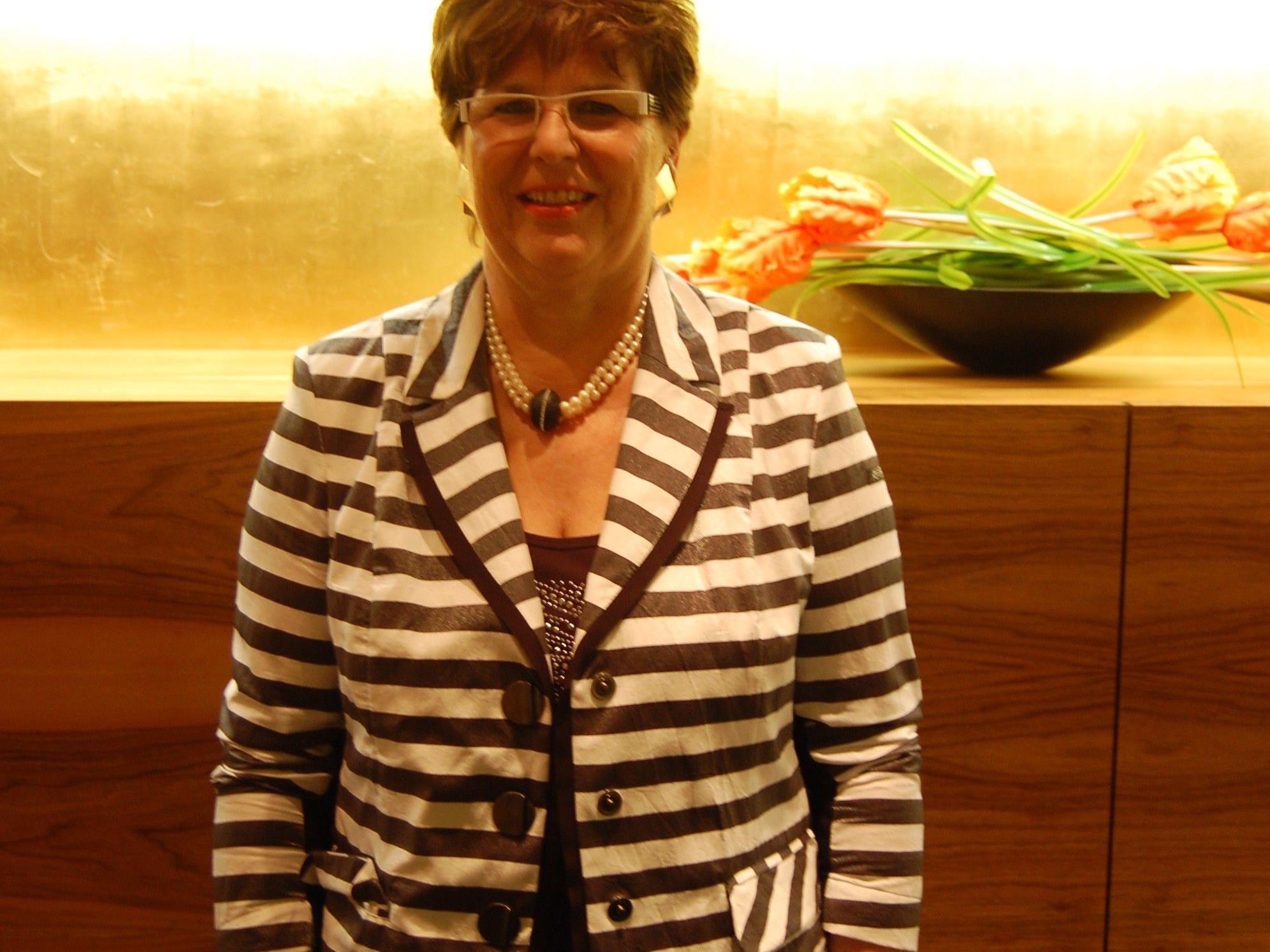 Inhaberin Doris Lenz.