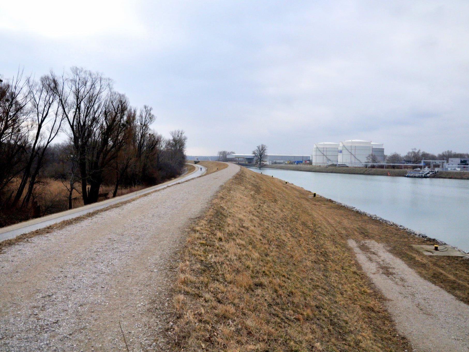 Der neue Damm kann auch als Wanderweg genutzt werden