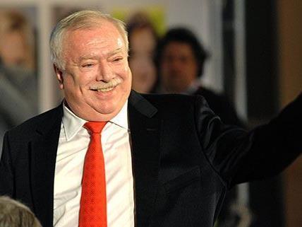 Bürgermeister Michael Häupl während der Arbeitstagung des SPÖ-Rathausklubs, wo es um Smart-Wohnungen ging