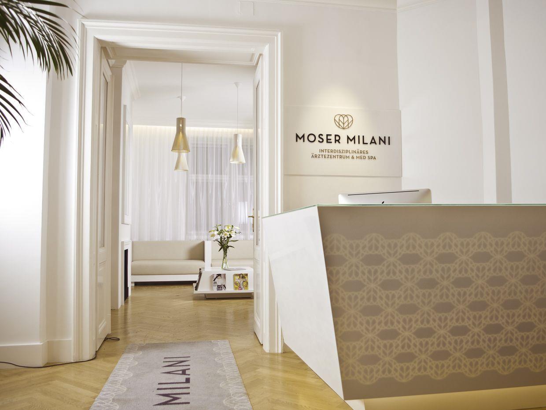 Am 13. März eröffnet das Moser Milani Medspa im ersten Bezirk.