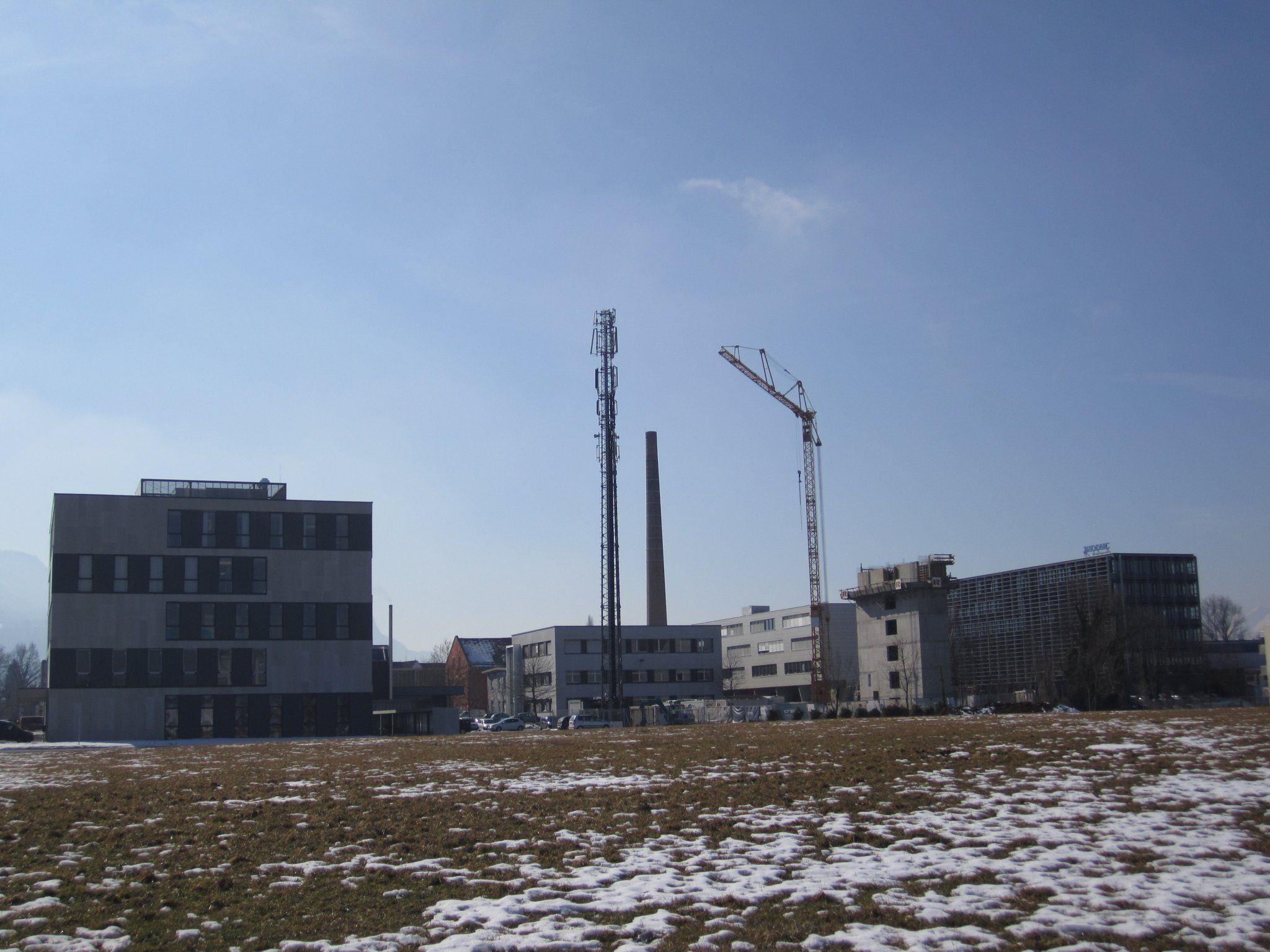 Mit dem Bau des LifeCircle Towers wurde bereits begonnen.