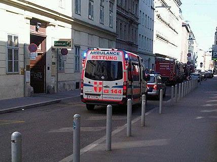 Rettung und Co. waren bei dem Brand in der Innenstadt rasch vor Ort
