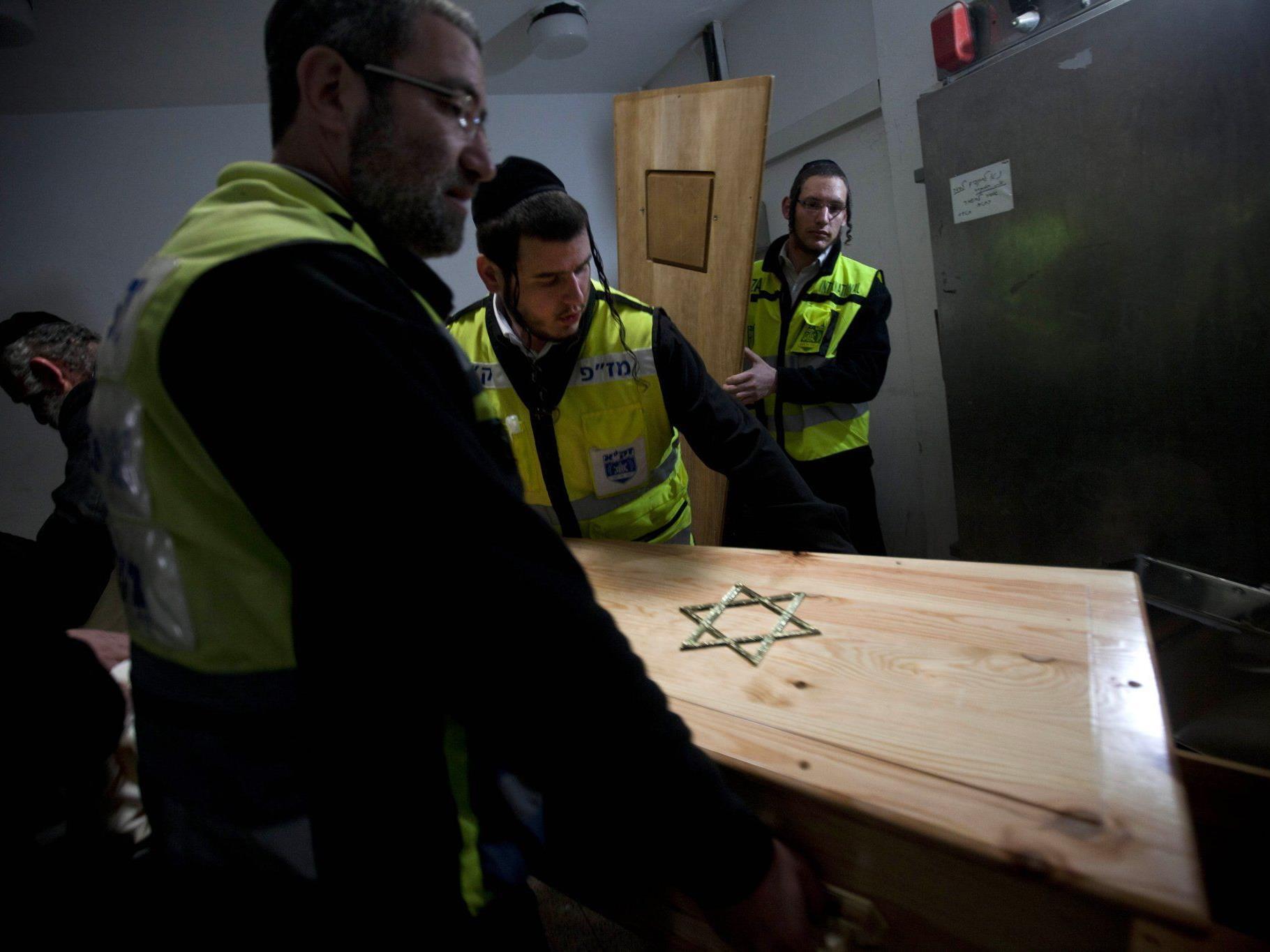 Die vier Leichen wurden am Mittwoch nach Israel gebracht.