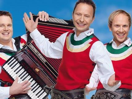 Auch die Jungen Zillertaler kämpfen um den Amadeus Award 2012.