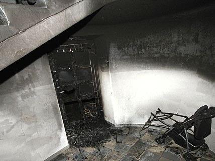 In St. Pölten kam es zu einem nächtlichen Kellerbrand mit schwerwiegenden Folgen