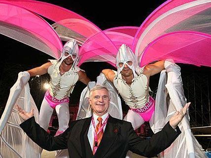 Wer am Life Ball 2012 als Debütant teilnehmen will, muss beim Casting Thomas Schäfer-Elmayer überzeugen