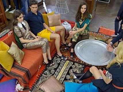 Im marokkanischen Ambiente wurde am Wiener Graben Marni at H&M gelauncht