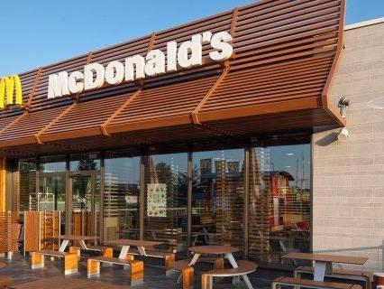Die Täter überfielen ein Mc Donald's-Restaurant in Brunn am Gebirge