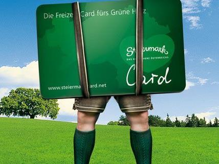 Die Steiermark hat jetzt eine eigene Steiermark-Card