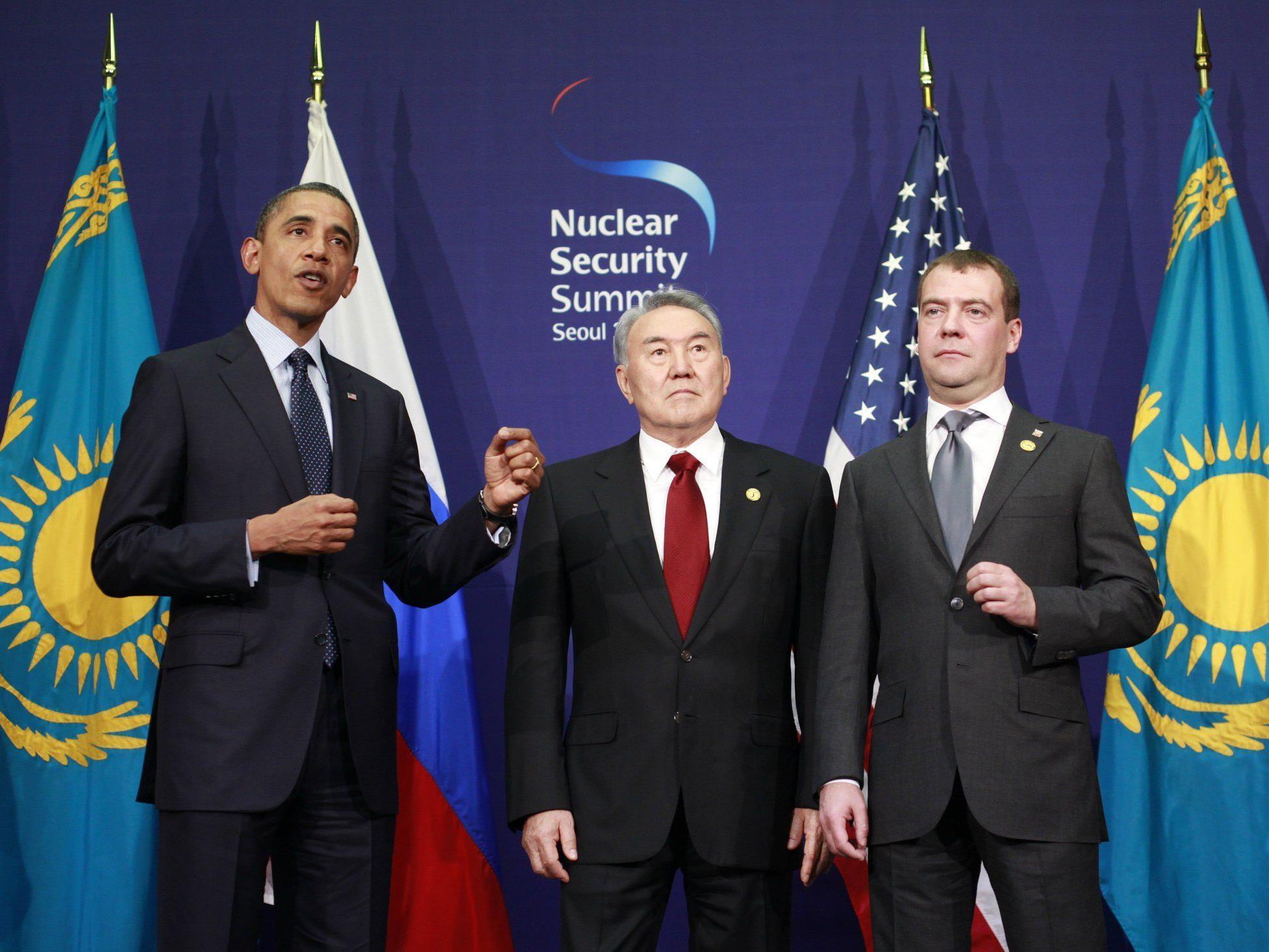Atomterror: Laut Obama könnten hunderttausende Menschen in Gefahr sein.