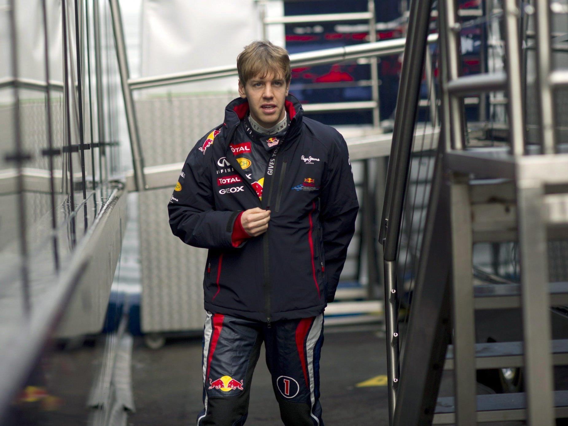 Doppelweltmeister und Titelverteidiger Sebastian Vettel ist auch 2012 WM-Favorit.