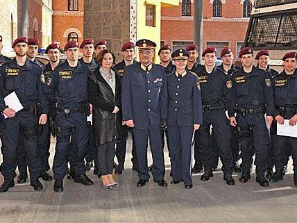 17 Polizisten wurden in Wien ausgemustert, um künftig die WEGA zu unterstützen