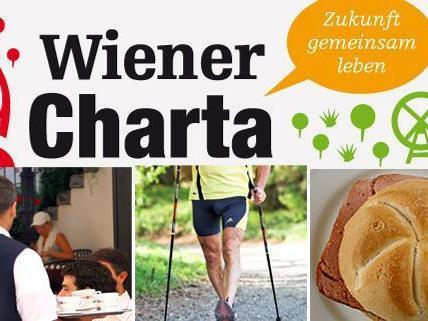 Ein paar der bisher eingereichten Wiener Charta-Wünsche: Freundliche Kellner, leise Nordic Walking-Stöcke und Leberkässemmeln nur außerhalb der Öffis